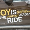 Joy is the perfect ride