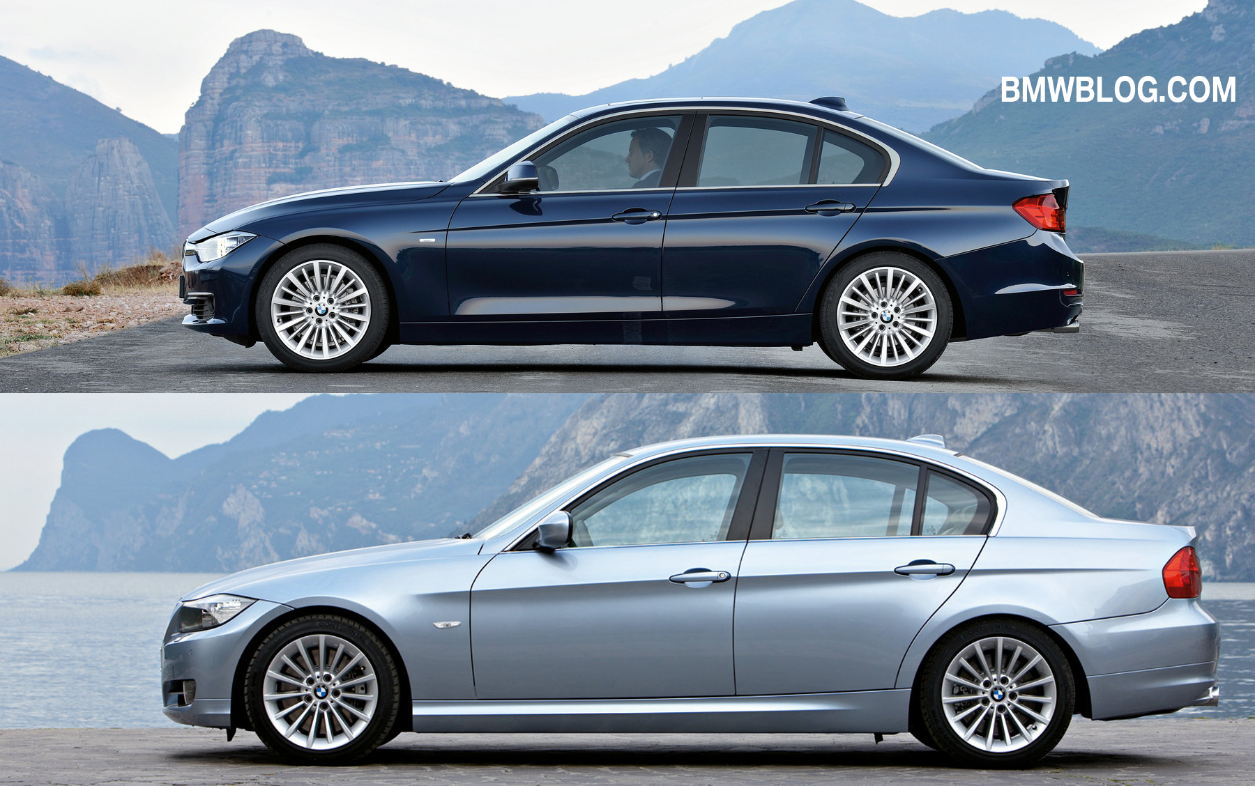 Comparatie Foto Bmw Seria 3 F30 Vs Seria 3 E90 Bmwblog