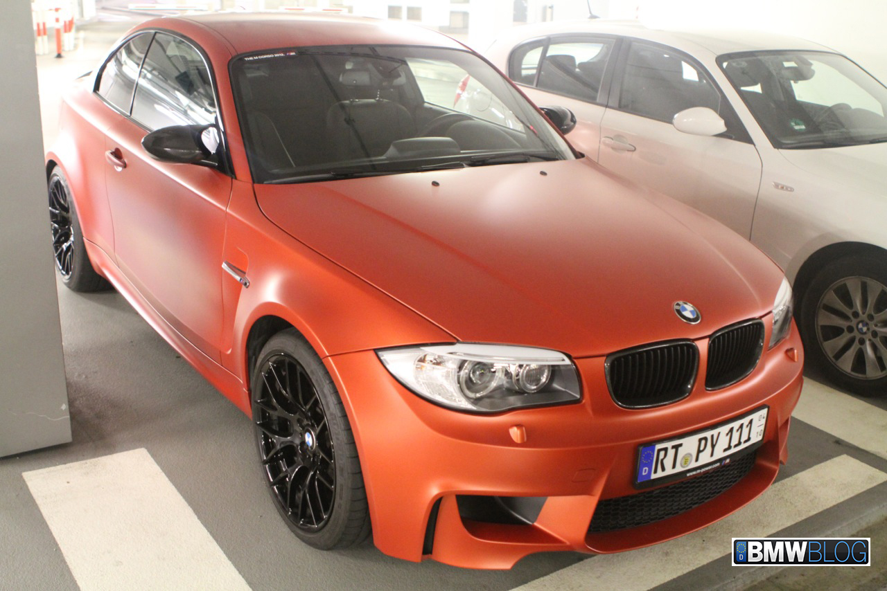 BMW-1M-matte-orange