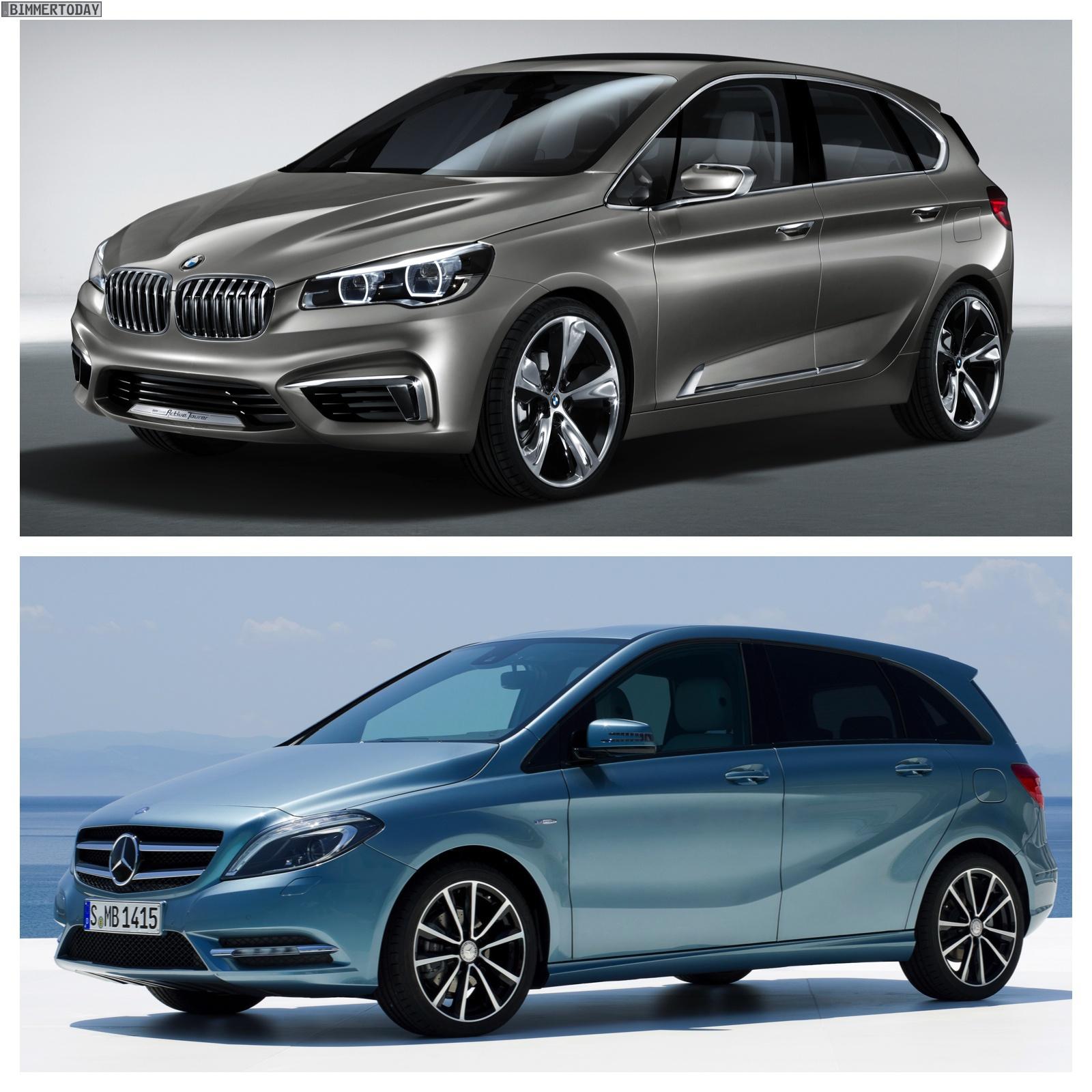 Bildervergleich-BMW-Active-Tourer-Concept-Mercedes-Benz-B-Klasse-01