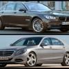 Comparatie-foto-BMW-Seria-7-LCI-F01-Mercedes-S-Klasse-W222-01