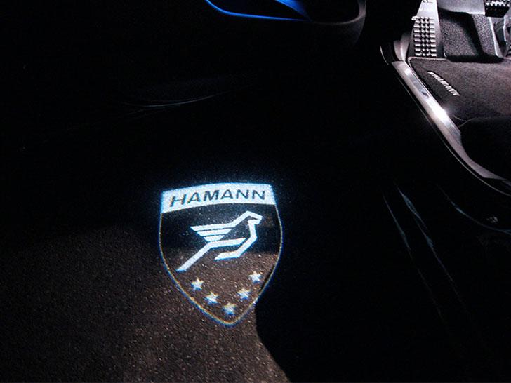 BMW X4 by Hamann - Logo LED