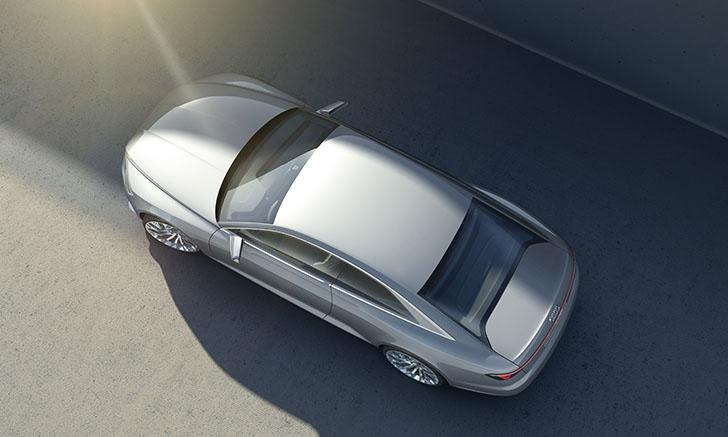 Cu un motor de 4,0 litri, TFSI, Audi Prologue Concept pune pe asfalt 605 CP prin intermediul sistemului de tracțiune integrală quattro.