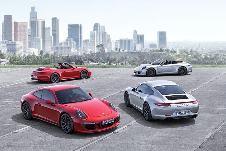 Porsche 911 GTS - gama completa