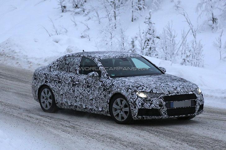 Noul Audi A4 - spionat