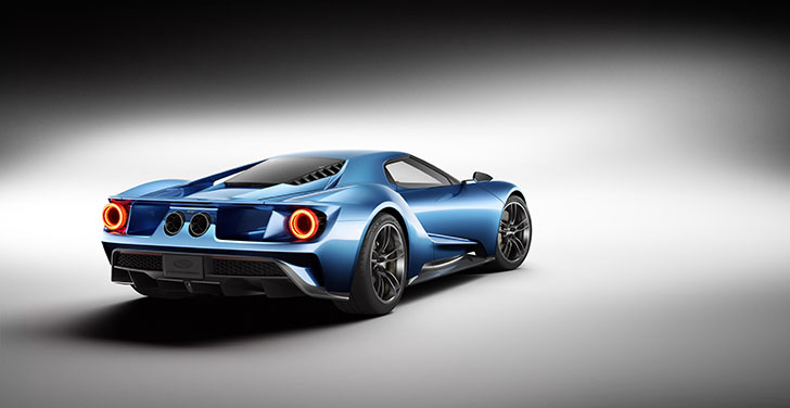 Noul Ford GT