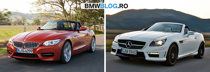 BMW Z4 vs Mercedes-Benz SLK_foto