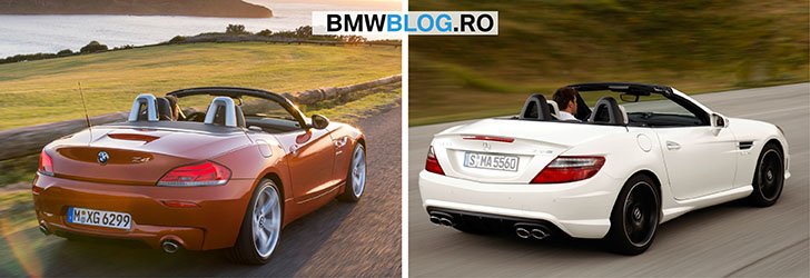 BMW Z4 vs Mercedes-Benz SLK_foto2