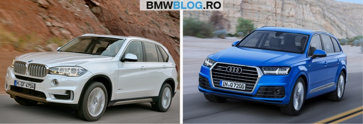Noul Audi Q7 vs BMW X5