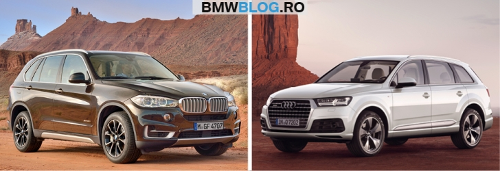 Noul Audi Q7 vs BMW X53