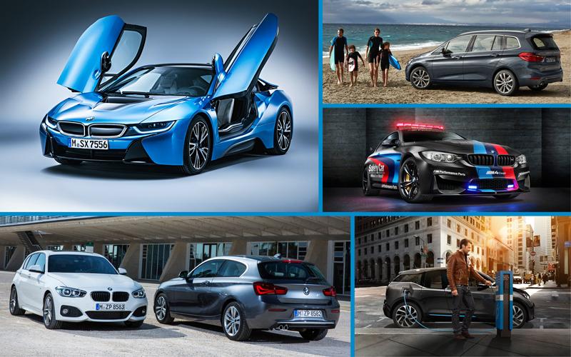 BMW la Salonul Auto de la Geneva 2015