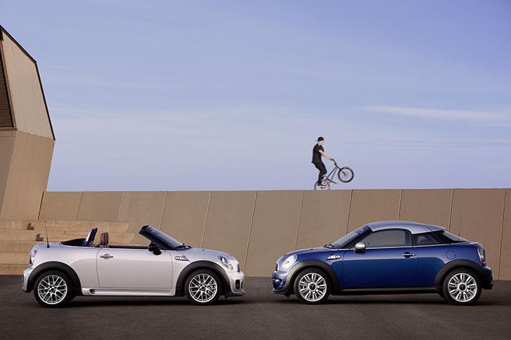 MINI Coupe si Roadster