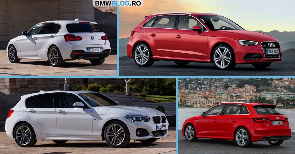 Noul BMW Seria 1 sau Audi A3 Sportback