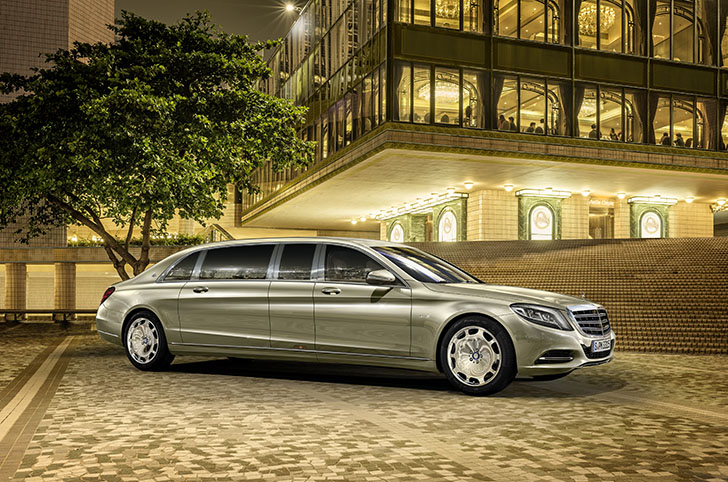 Mercedes-Benz S600 Pullman Maybach