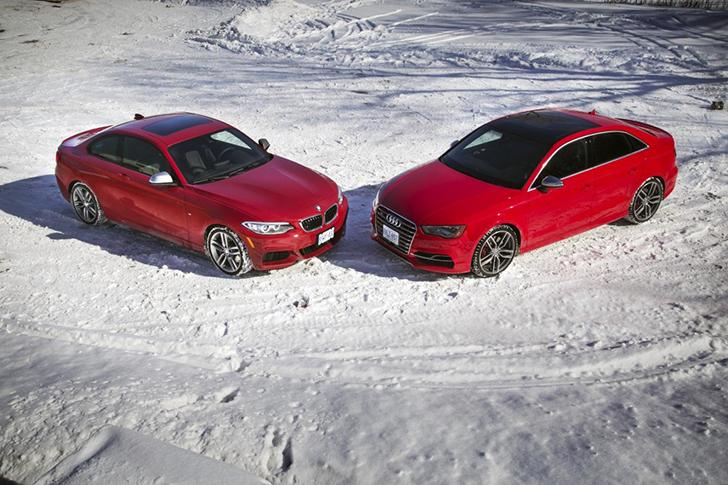 BMW M235i vs Audi S3 Sedan