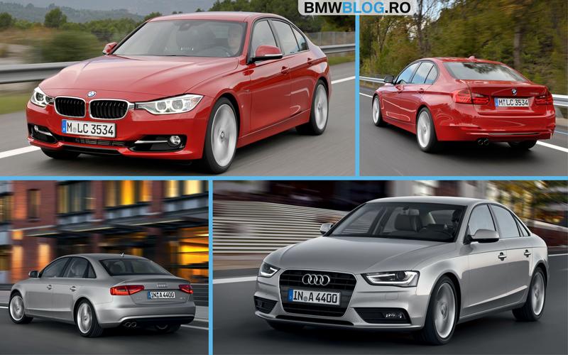 Audi A4 sau BMW Seria 3