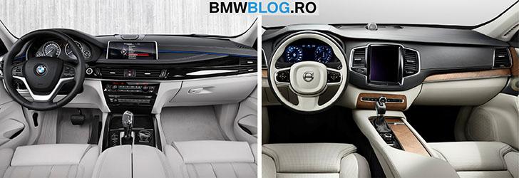 BMW X5 vs Volvo XC90