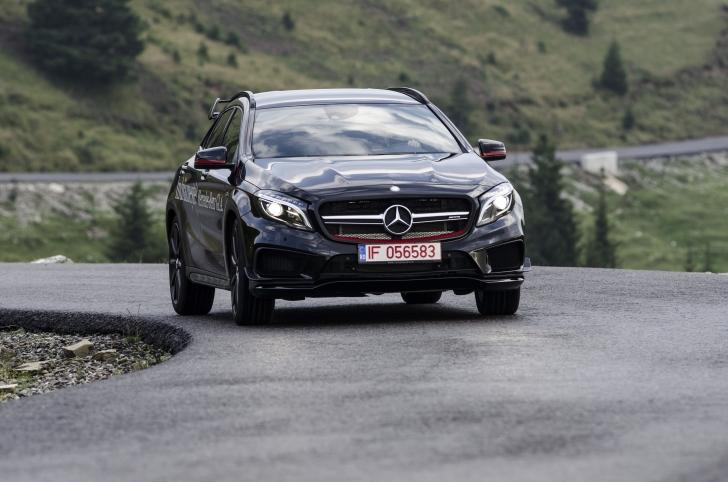 Test Mercedes-Benz GLA 45 AMG