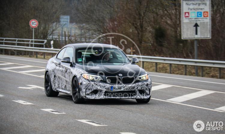 BMW M2 Spy
