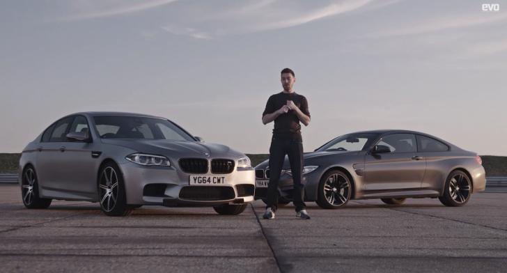 BMW M4 vs BMW M5