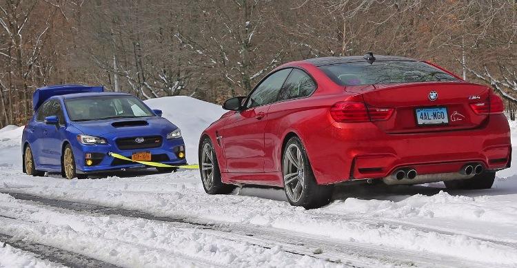 BMW M4 vs. Subaru WRX STI