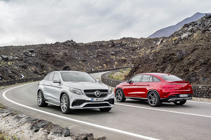 Noul Mercedes-Benz GLE Coupe