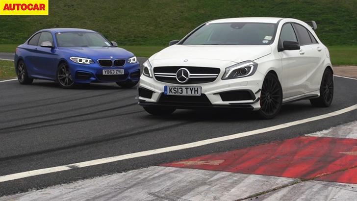 BMW M235i vs Mercedes A45 AMG