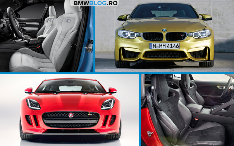 BMW M4 vs Jaguar F-Type R