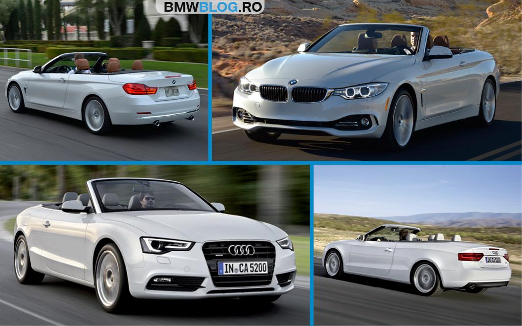 BMW Seria 4 Cabrio vs Audi A5 Cabrio