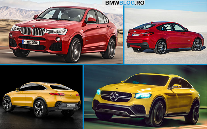 BMW X4 vs Mercedes-Benz GLC Coupe