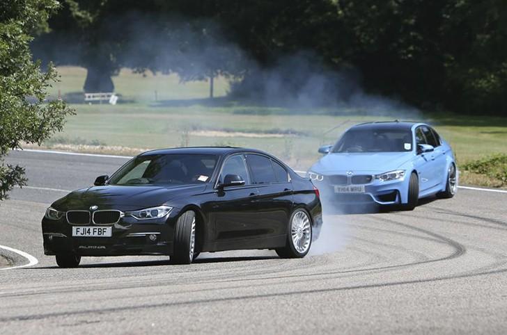BMW M3 vs. Alpina D3