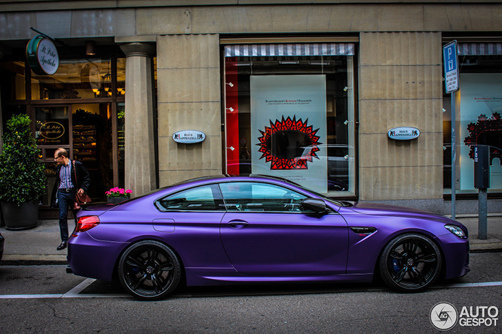 BMW M6 Purple