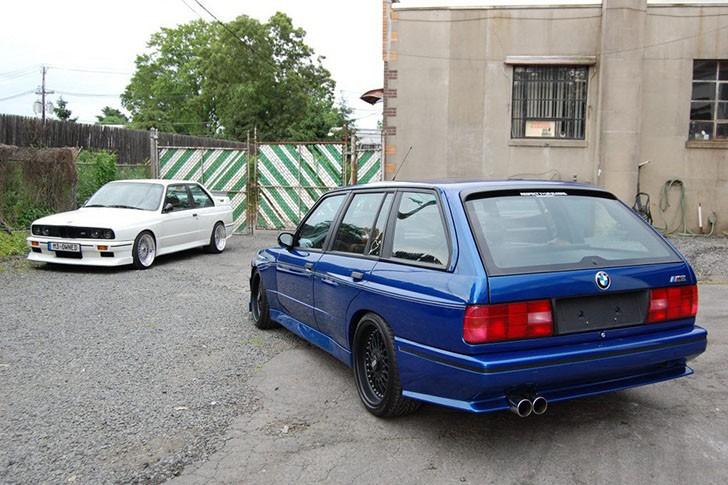 BMW M3 E30 Touring - Trei în unul nu-i niciunul