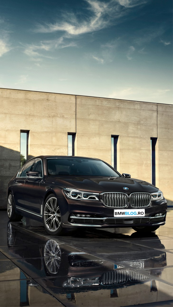 Wallpaper cu BMW Seria 7