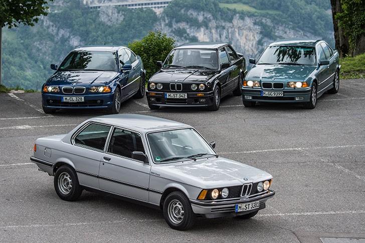 BMW 340i F30 vs BMW 323i E36 (1)