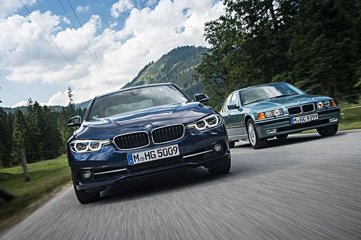 BMW 340i F30 vs BMW 323i E36 (59)
