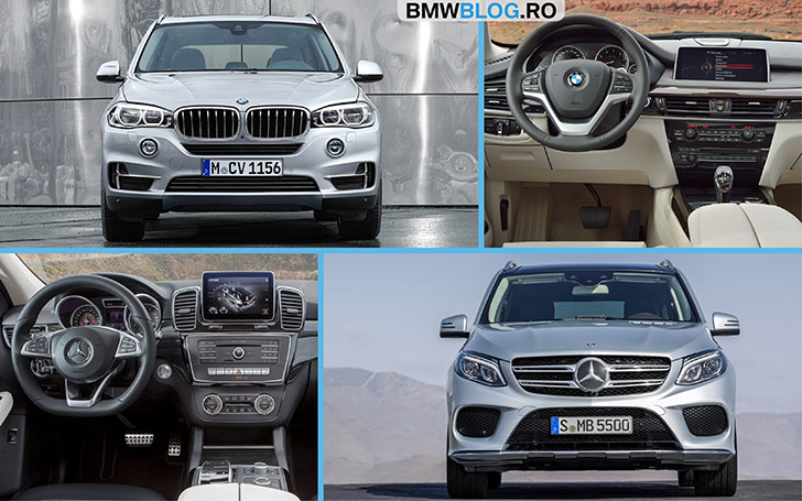 Mercedes-Benz GLE vs BMW X5