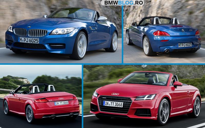 BMW Z4 vs Audi TT