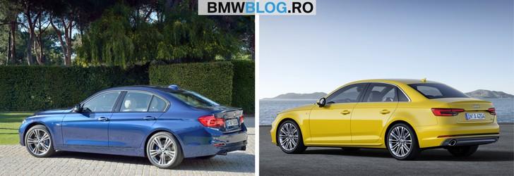 Noul Audi A4 vs BMW Seria 3