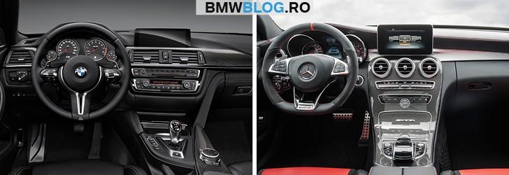 BMW M3 vs Mercedes-AMG C 63