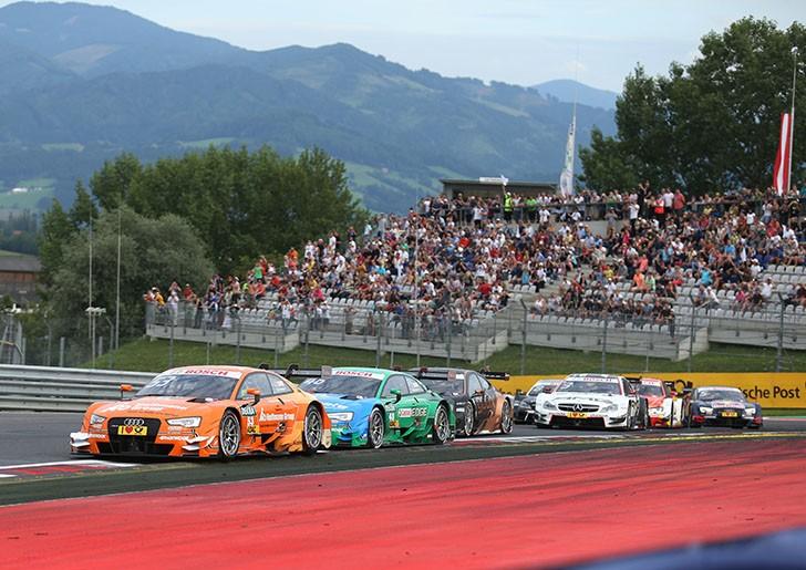 DTM Spielberg - Cursa 1 - Audi