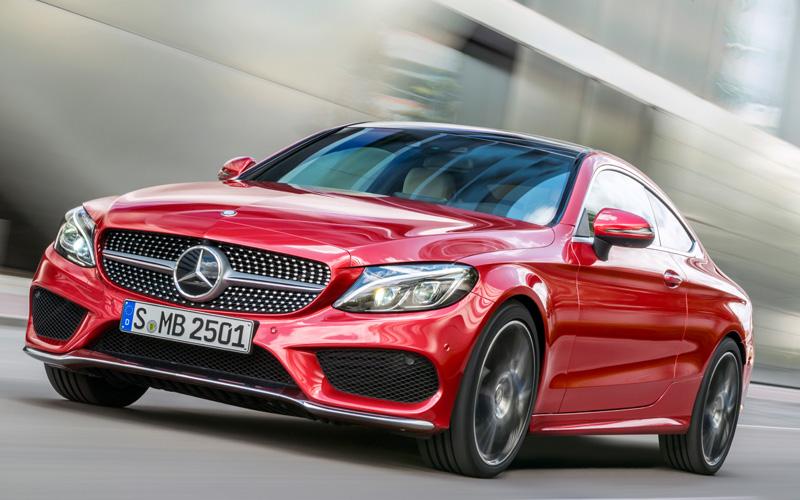 Noul Mercedes C Coupe