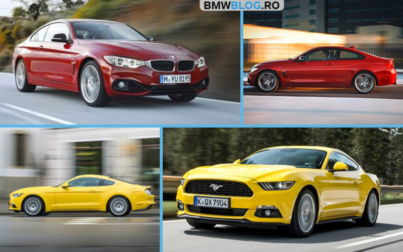 BMW Seria 4 Coupe vs Ford Mustang