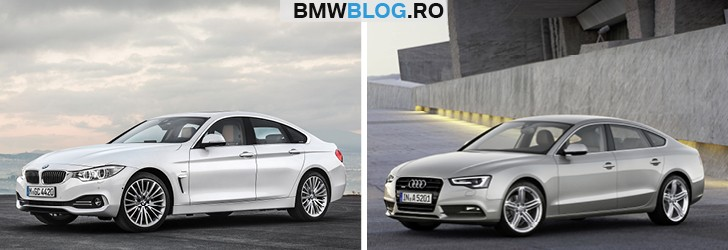 BMW Seria 4 Gran Coupe vs Audi A5 Sportback_imagini (2)