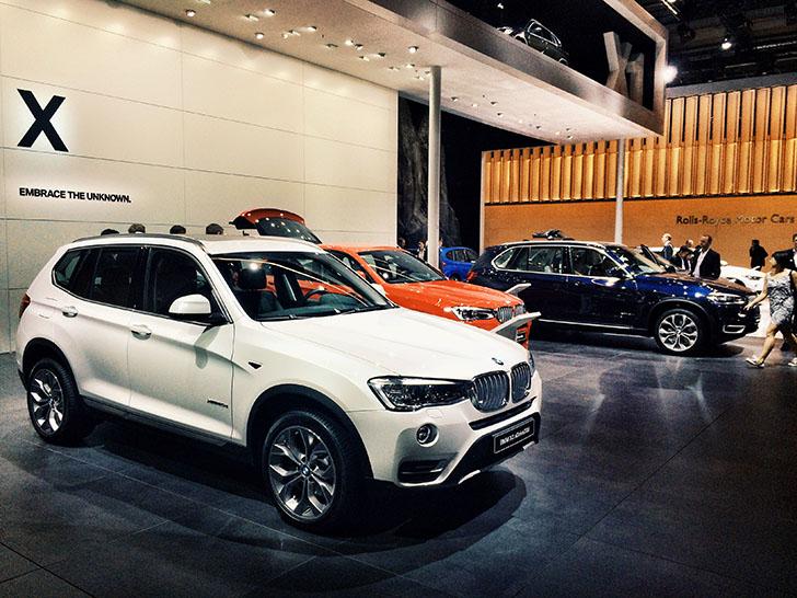 BMW la Salonul Auto de la Frankfurt