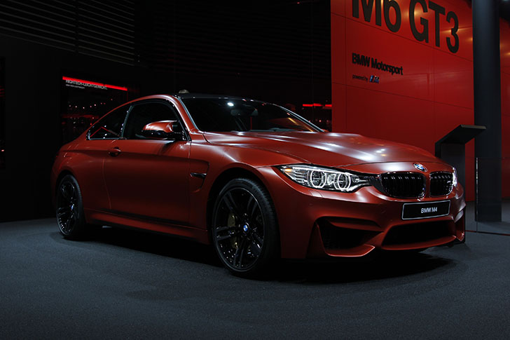 BMW M4 Coupe Frozen Red
