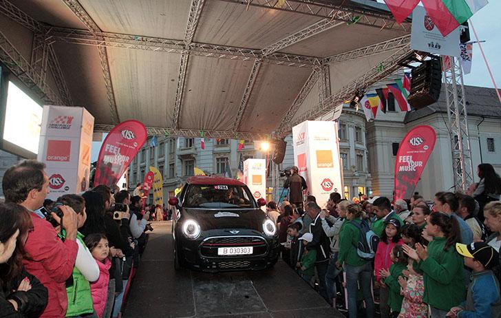 MINI la Sibiu Rally Challenge
