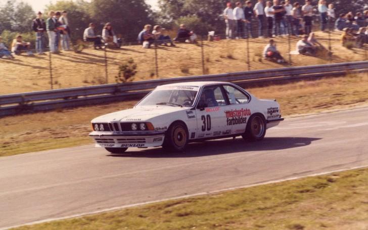 Singura cursă din ETCC: la Zolder în 1983 alături de BMW 635 preparat de Schnitzer