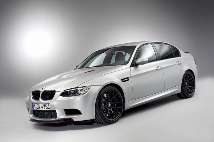 The BMW M3 CRT 2011