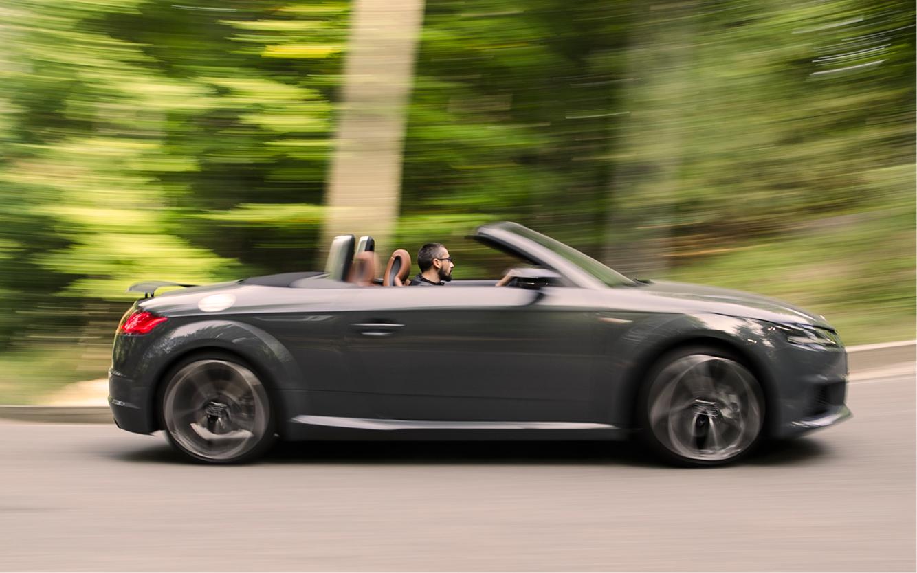 Test Audi TT Roadster 2.0 TFSI